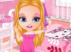 Bebê Barbie Tirando uma Selfie