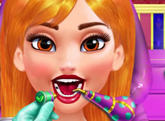 Princesa Anna no Dentista 2