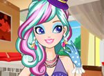 Maquiagem da  Madeline Hatter Ever After High